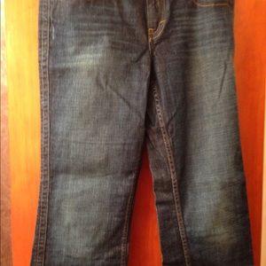 Calvin Klein lean boot jeans